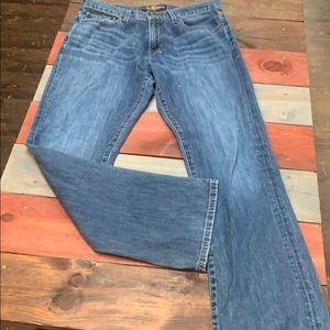 Lucky Brand 221 Original Boot Jeans 33x32
